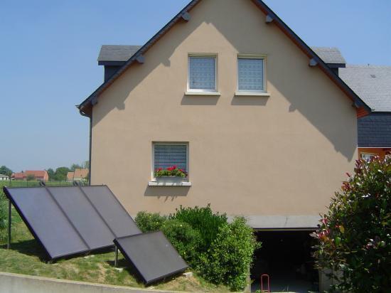 Installation de panneaux solaires à Gamaches (sol)