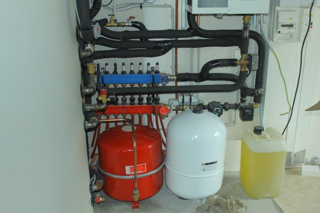 Equipement solaire pour production d'eau chaude et appoint chauffage
