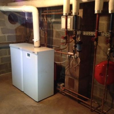 remplacement chaudière gaz frisquet condensation (etrepagny)