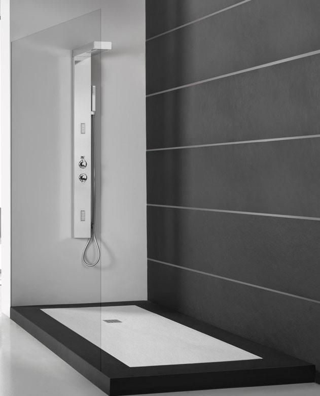 receveur acquabella amazing bande de receveur step venetian acquabella construplas with. Black Bedroom Furniture Sets. Home Design Ideas
