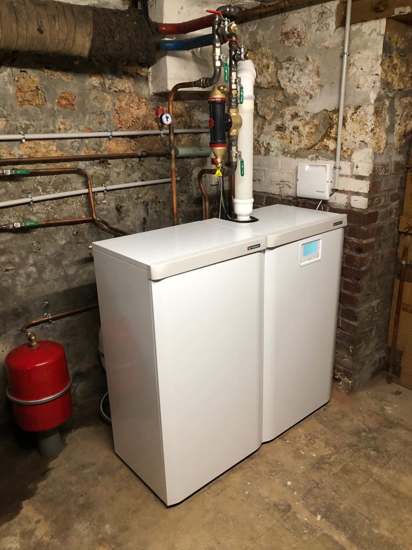 Chaudiere gaz avec production eau chaude a sery fontaine
